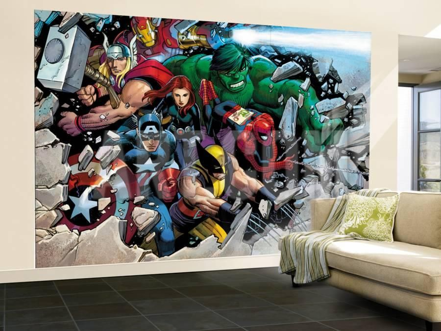 Son Of Marvel Reading Chronology Cover Thor Wall Mural Large By John Romita Jr At Art Com Marvel Room Wall Murals Mural