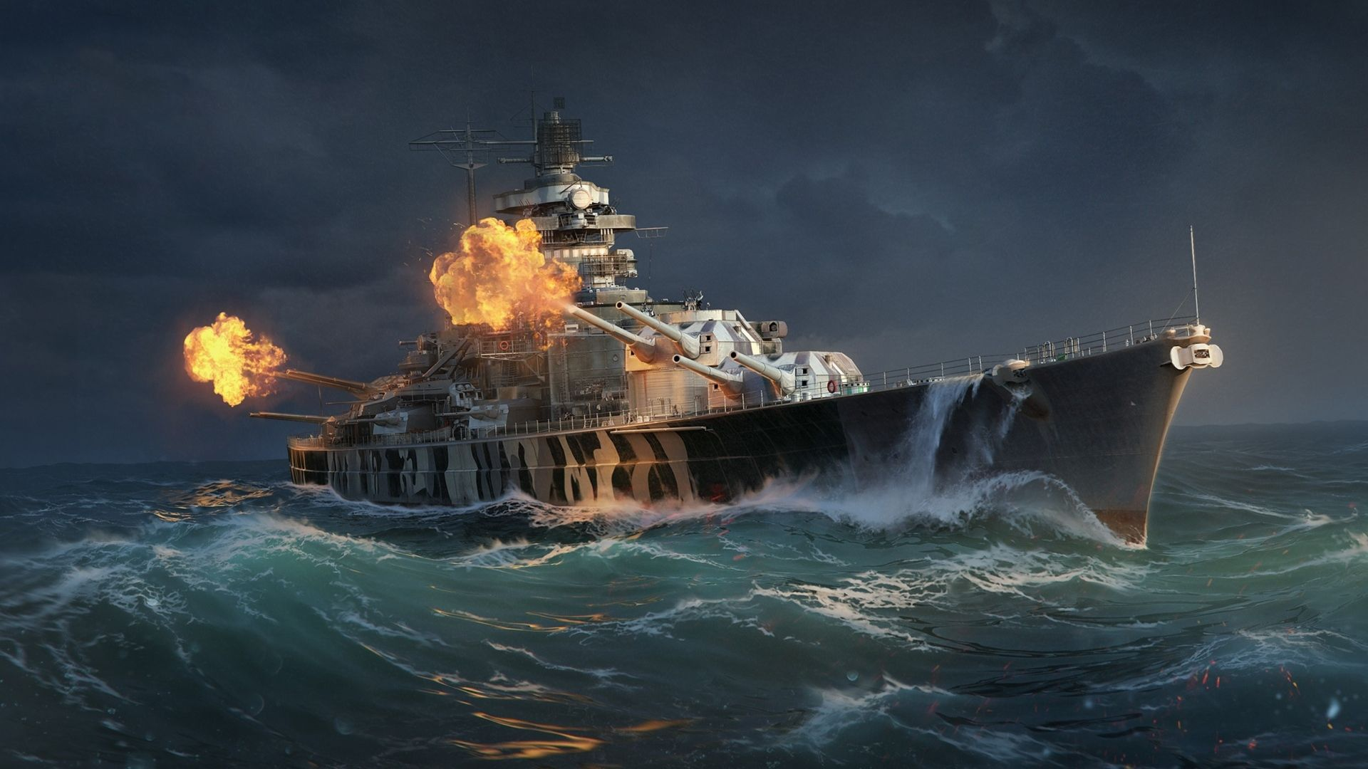 Full Hd 1080p World Of Warships Wallpapers Hd Desktop Backgrounds