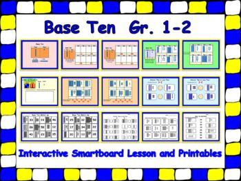 Base ten smartboard lesson and printables for 1 2 urtaz Choice Image