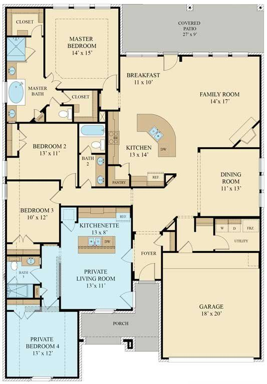 Genesis 492n New Home Plan In Wildwood At Northpointe