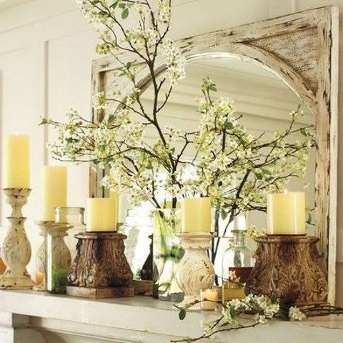 53 fresh spring mantel decor ideas comfydwellingcom