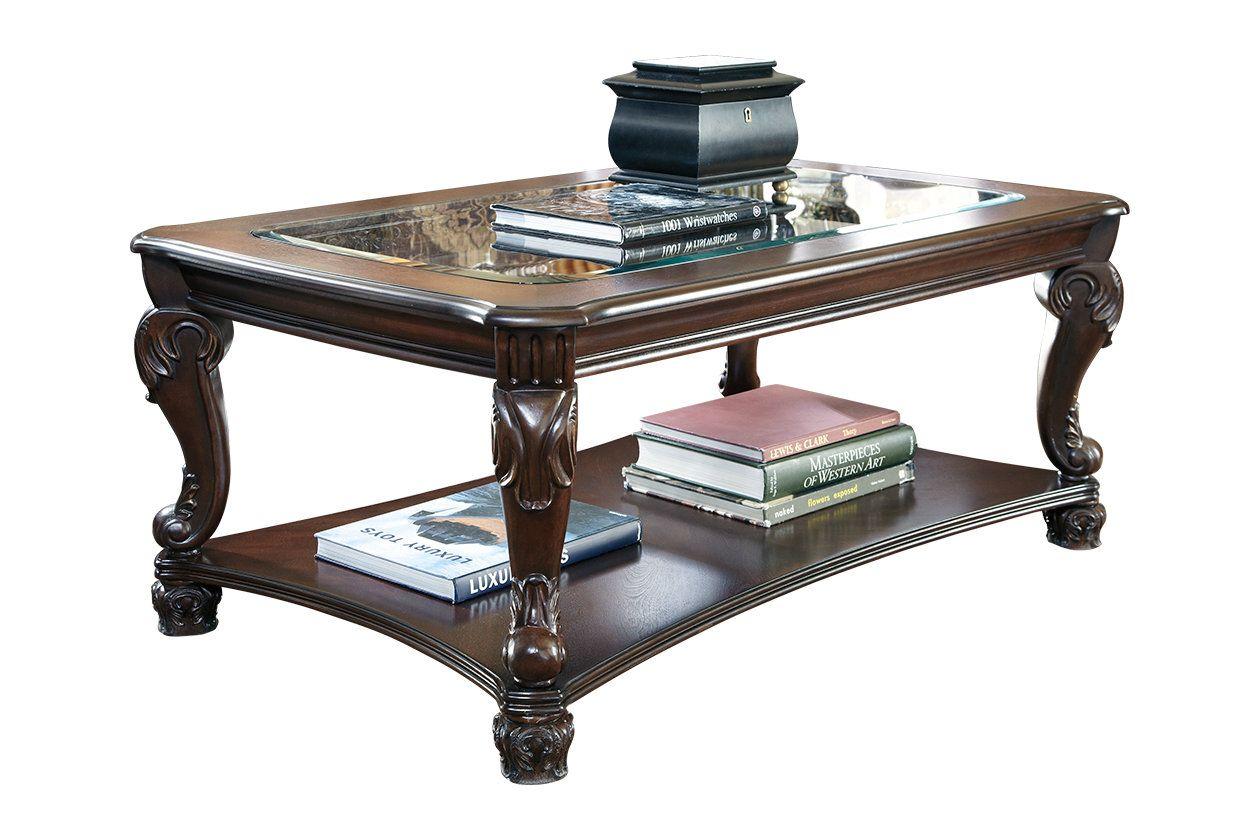 Norcastle Coffee Table Ashley Furniture Homestore In 2020 Coffee Table Rectangular Coffee Table Ashley Furniture [ 840 x 1260 Pixel ]