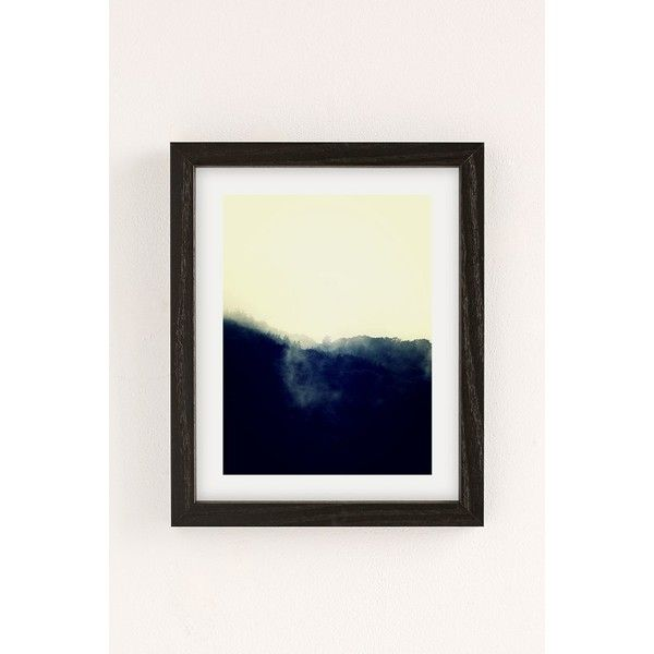 Derek Delacroix Misty Morning Art Print ($59) ❤ liked on Polyvore