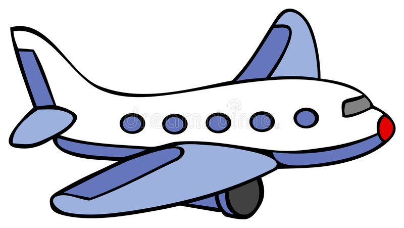 Illustration About Cartoon Line Art For An Airplane Illustration Of Flight Terminal People 1301493 Cartoon Airplane Airplane Drawing Airplane Illustration
