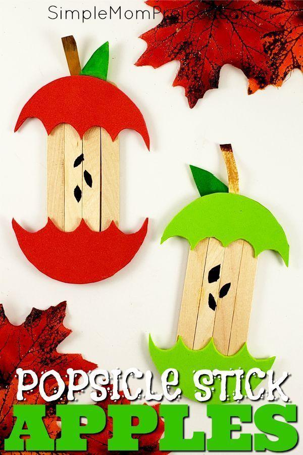 big big 20+ Easy DiY Halloween Eis am Stiel Basteln für Kinder