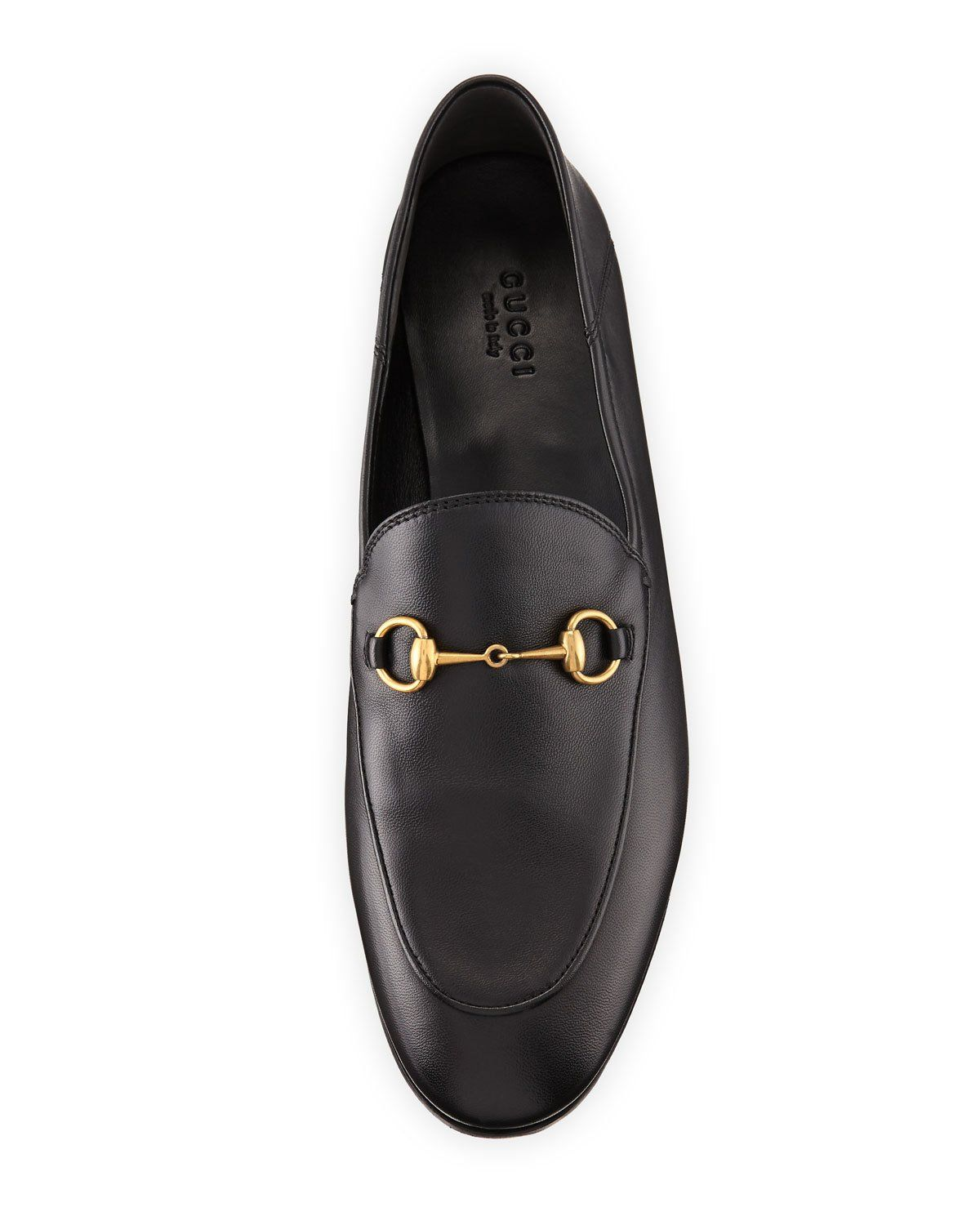 100f68bc7 Gucci Brixton Leather Horsebit Loafer, Black | ALLIE'S WISH LIST ...