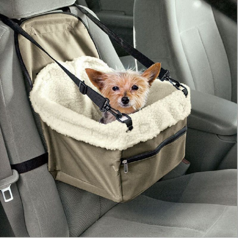 Zipper Hammock Style Pet Dog Carrier With Leash Chihuahua Bag Easy Fit Car Seat For Cat Stroller Travel