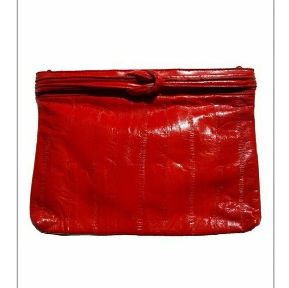 Hp 1 13 16 Vintage Eel Skin Clutch Vintage Bags Skin Vintage