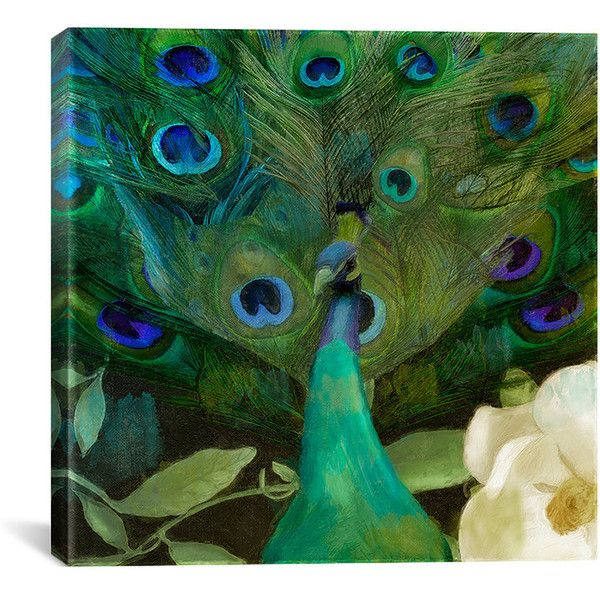 iCanvas Color Bakery 'Aqua Peacock' Canvas Art Print ($105) ❤ liked on Polyvore featuring home, home decor, wall art, backgrounds, blue, contemporary wall art, peacock home decor, aqua home accessories, canvas wall art and peacock blue home decor