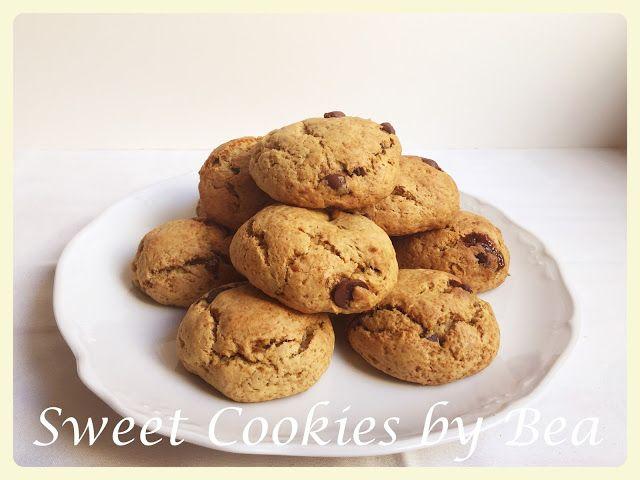 Sweet Cookies by Bea: Cookies de plátano rellenas de dulce de leche