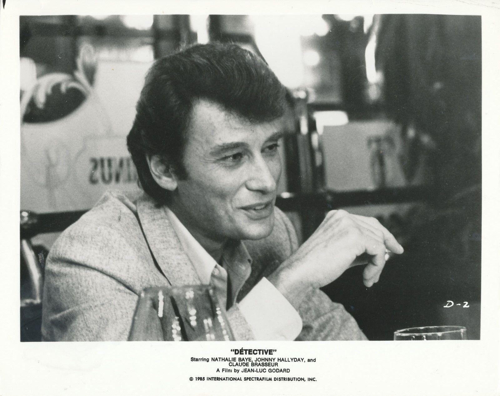Johnny Hallyday Detective 8x10 Original Photo AA9789 | eBay