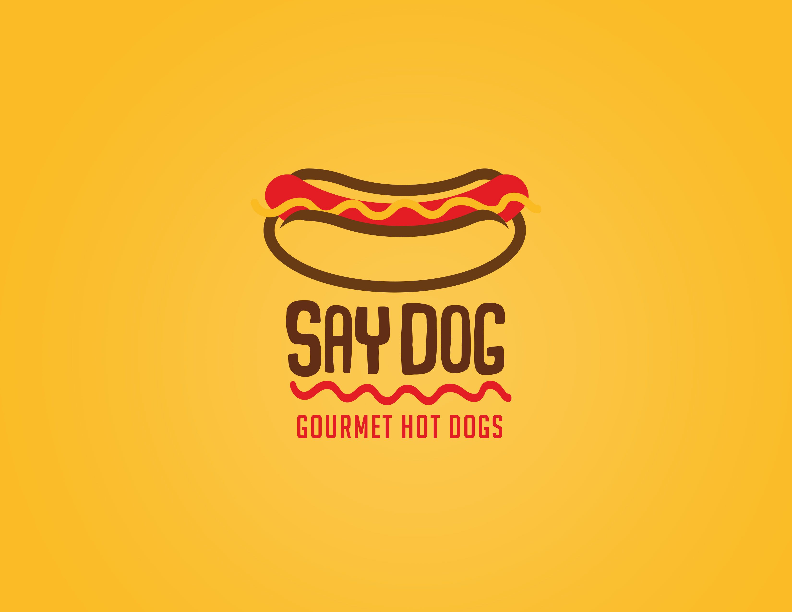 "consulta mi proyecto @behance: ""logo proposals for say dog gourmet"