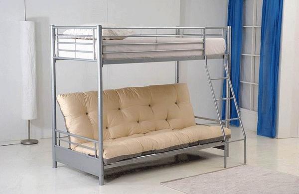 Alaska Futon bunk bed Futon bunk bed, Diy futon, Bunk beds