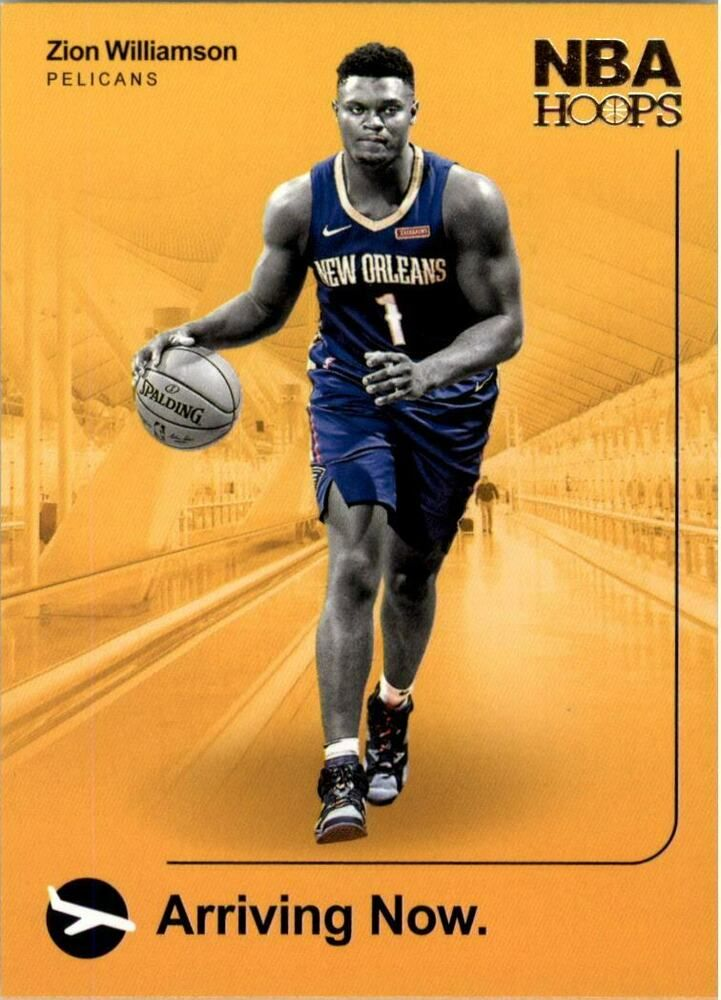 201920 panini hoops arriving now zion williamson rookie