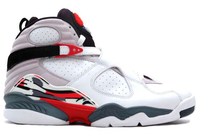 Air Jordan 8 Retro White / Black / Red