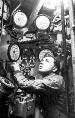 Inside a German U-Boat - WW II - this was one of the worst ways to
