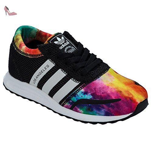 Adidas Los Angeles K Chaussures basses garçon - - schwarz / bunt ...