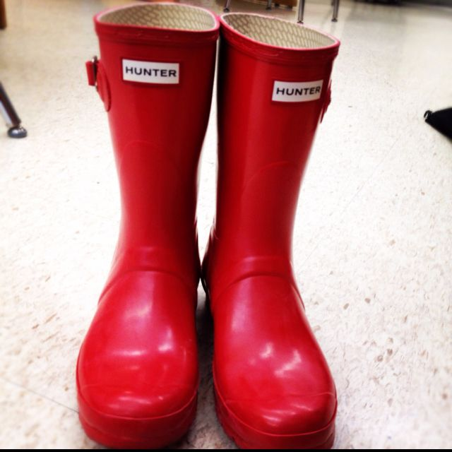 Hunter wellies Most comfortable rain boots ever These shoes were
