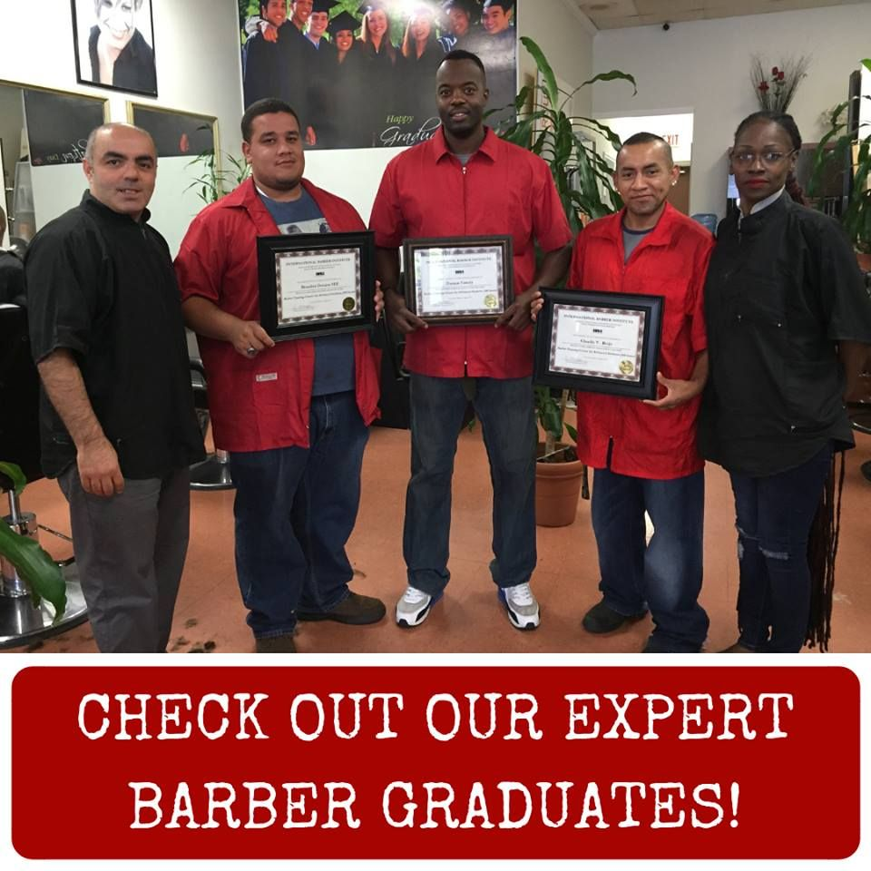 Check it out our expert barber graduates