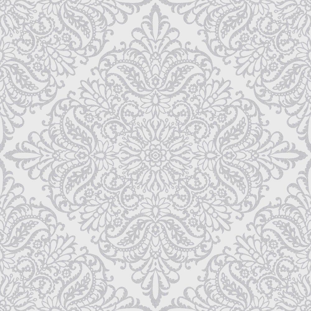 Arthouse Celestial Silver Wallpaper in 2020 Silver
