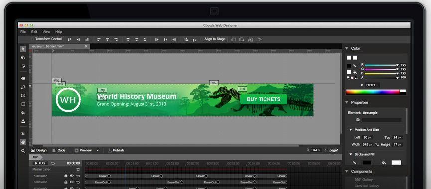 Google Web Designer Time To Learn Google Web Designer Web Design Software Design