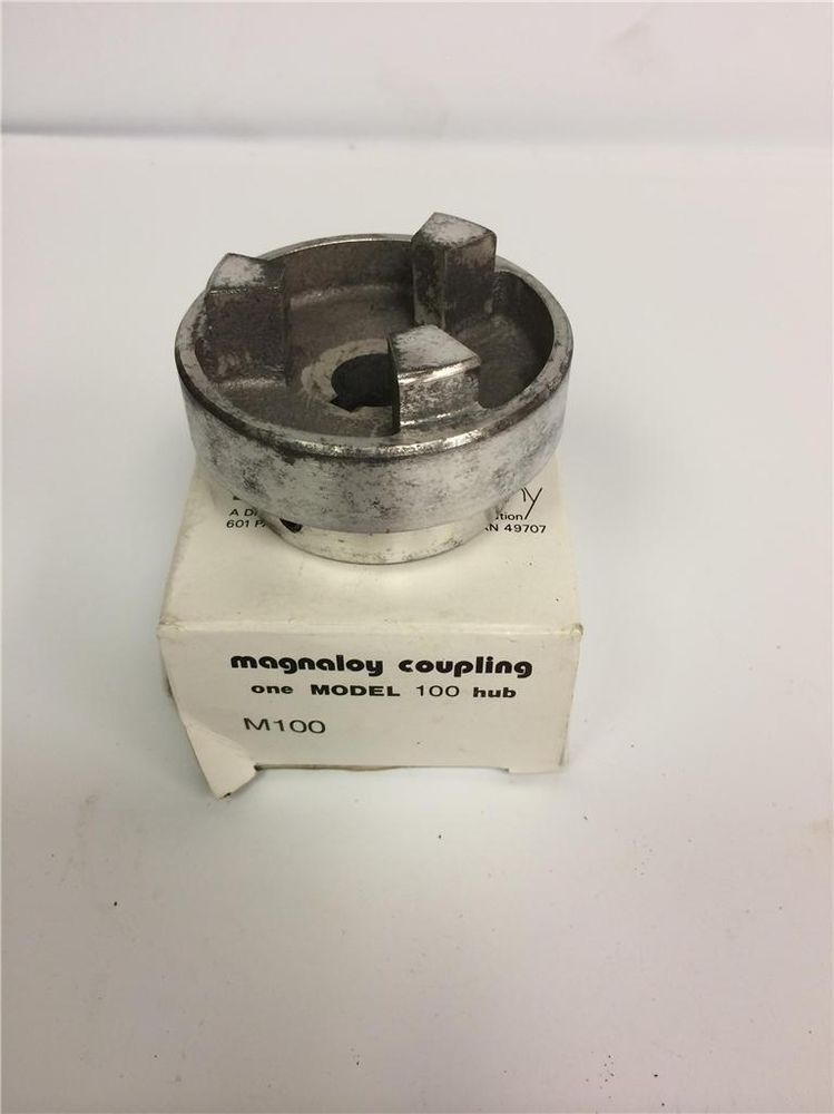new MAGNALOY COUPLING MODEL 100 HUB M100 02006 5//8 x 3//16