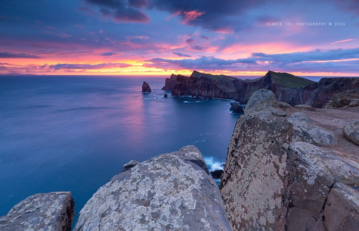 On the Edge of a DreaM by Duarte Sol on 500px ~ Sunrise @ Ponta de São Lourenço, Madeira.