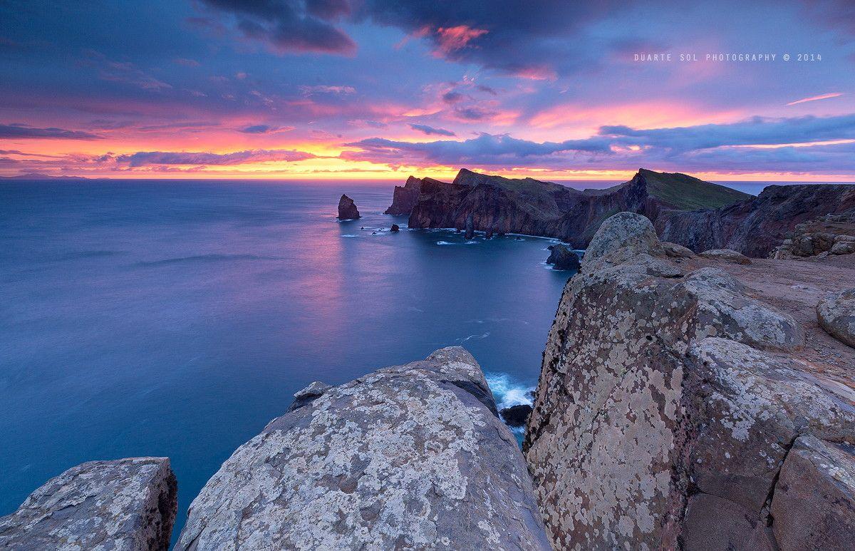 On the Edge of a DreaM by Duarte Sol on 500px ~ Sunrise @ Ponta de São Lourenço, Madeira.