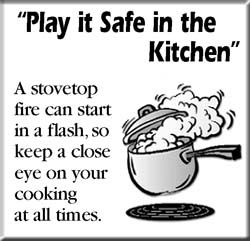 Kitchen Safety Poster   Google Search