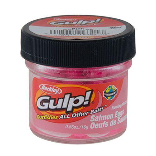 Berkley Gulp! Floating Salmon Eggs 0.56 oz Soft Bait, Pink