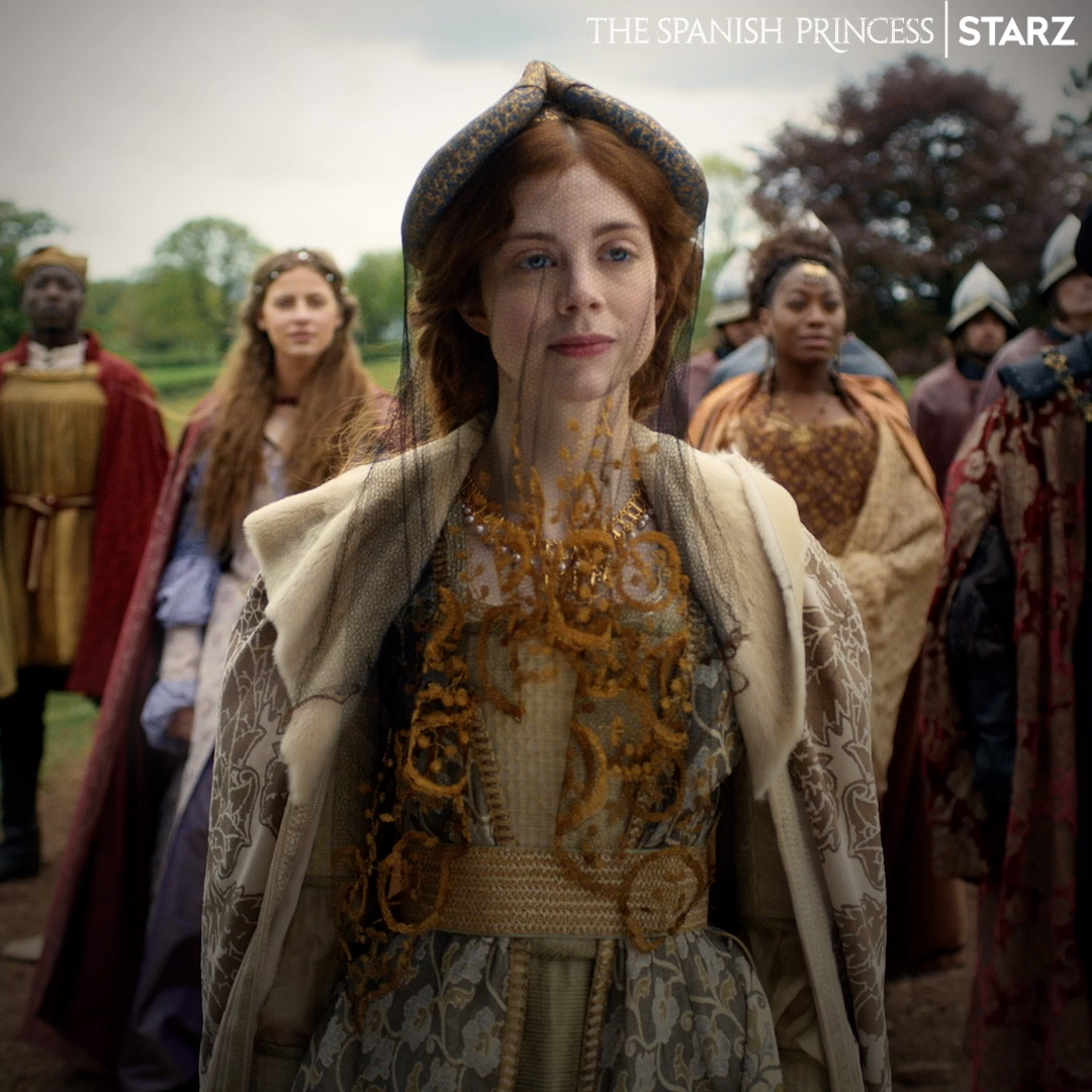 Pin by STARZ on The Spanish Princess in 2019 Movies, tv