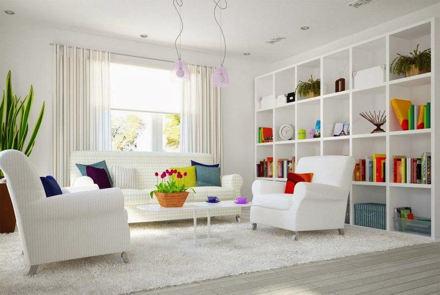 Decorating White Interiors With Bright Colored Accents Trendy For 2019 Room Interior White Interior Design Home Interior Design