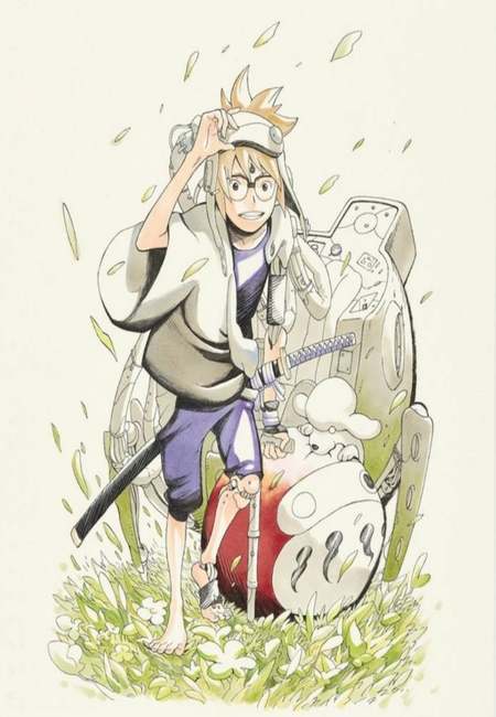 Samurai 8 Manga's Preview Chapter Announced to be