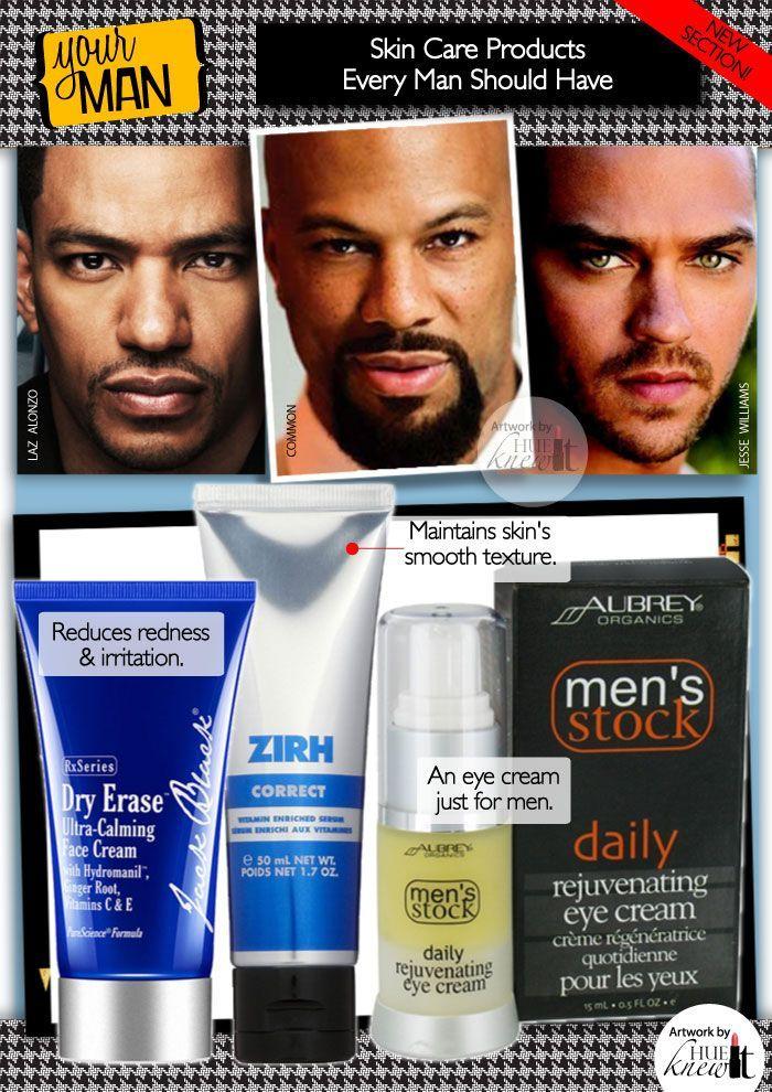 Black men facial care