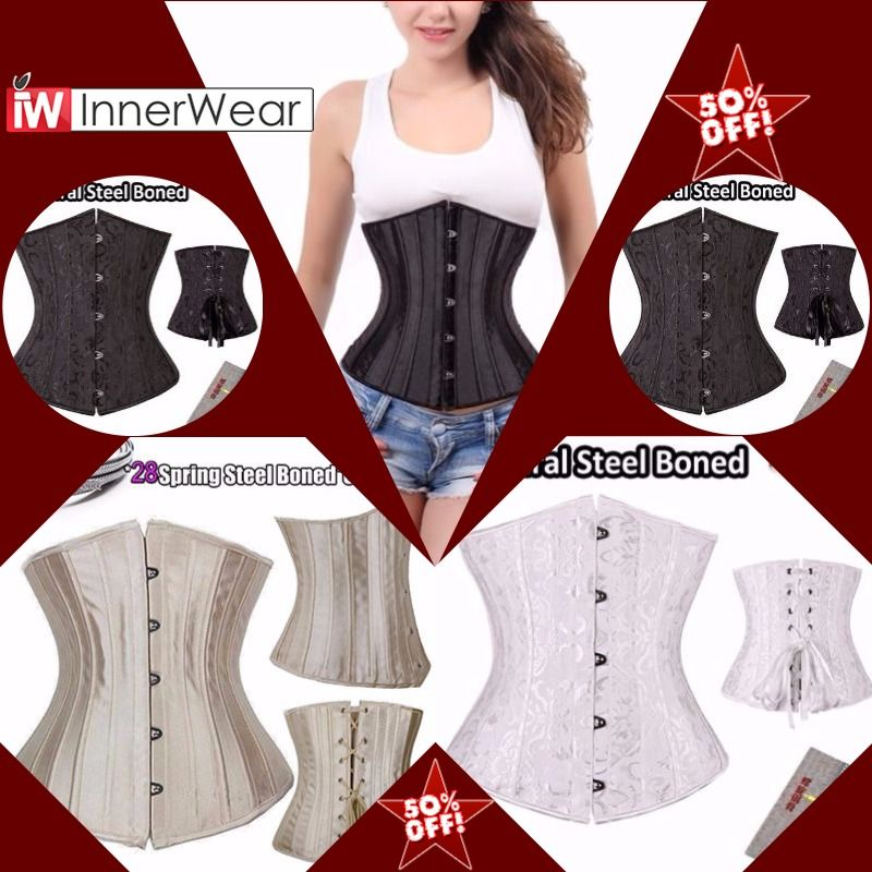7418575dcb1 Corsets And Bustiers Underbust Floral Corsets Waist Trainer Cincher Body  Shaper  sale  today
