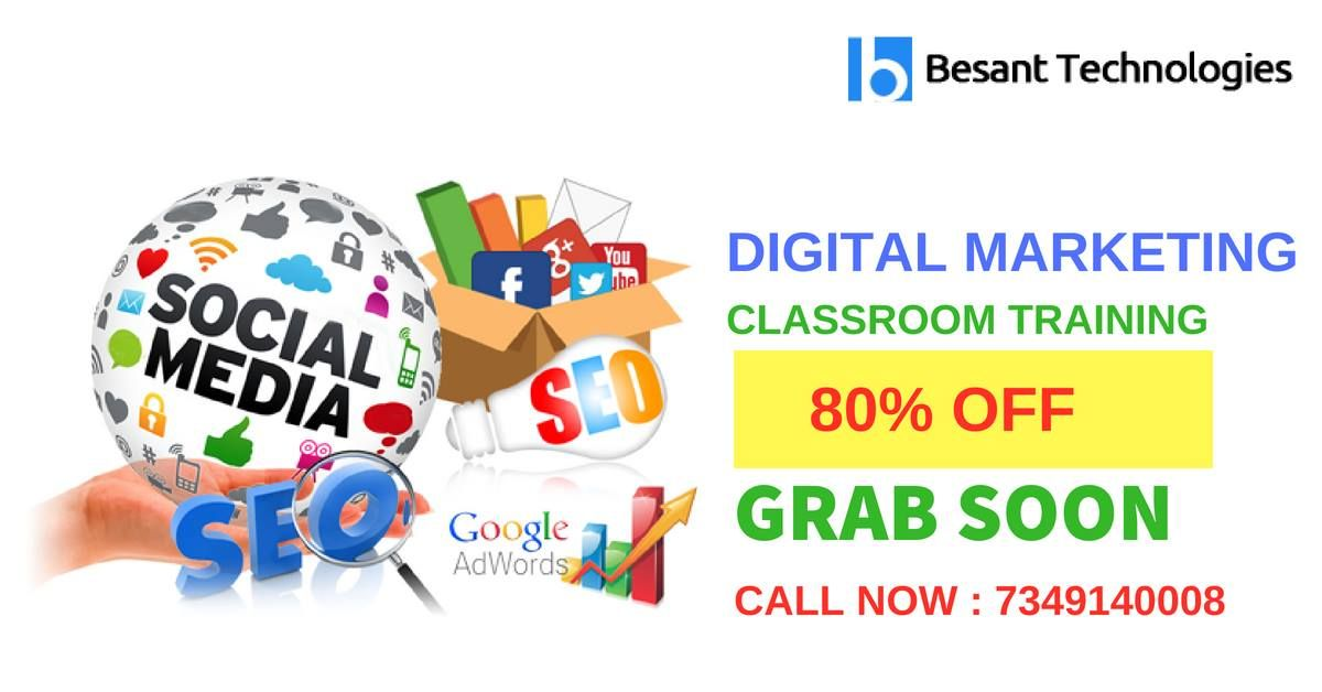 Online Marketing Classroom Promotions March 2020