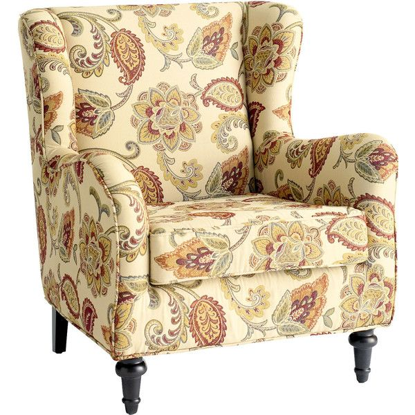 Pier 1 Imports Claudio Wing Chair Jacobean Ochre 400 Liked