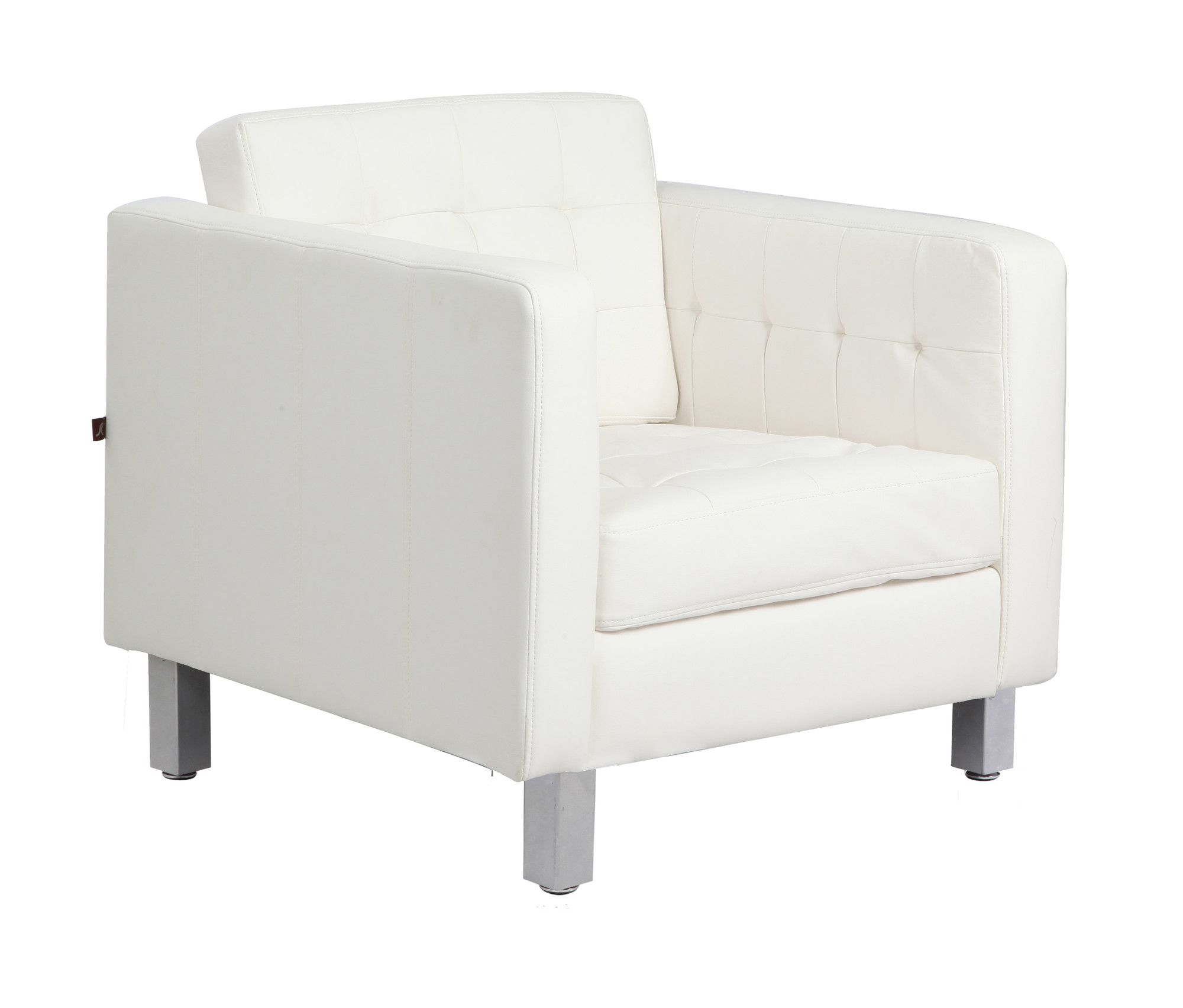 Best 37 White Modern Accent Chairs For The Living Room White 400 x 300