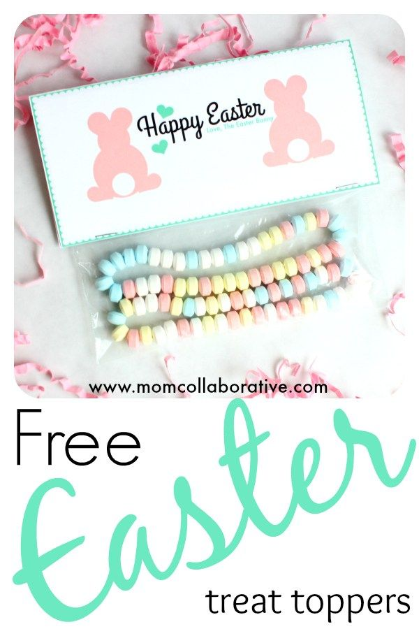 Easter bunny treat bag toppers easter bag toppers and easter bunny easter bunny treat bag toppers negle Image collections