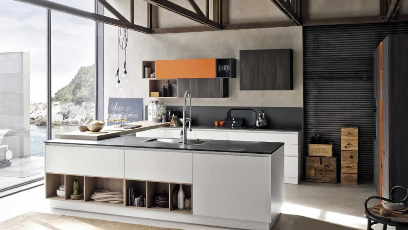Replay Next Kitchen with Allegra Groove System by Stosa Cucine ...