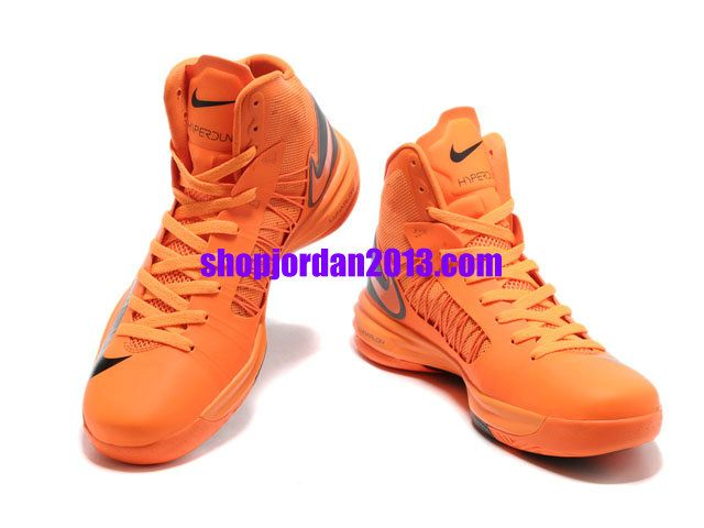 huge selection of b015e 04c8d Nike Lunar Hyperdunk X 2012 James Shoes Orange Gray Red Cheap Hyperdunks   Orange  Womens  Sneakers