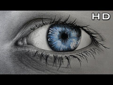Como Dibujar Un Ojo Realista Con Lapices De Colores Paso A Paso Version Extendida Tutorial Ojos You Dibujos De Ojos Ojo Realista Arte De Lapices De Color