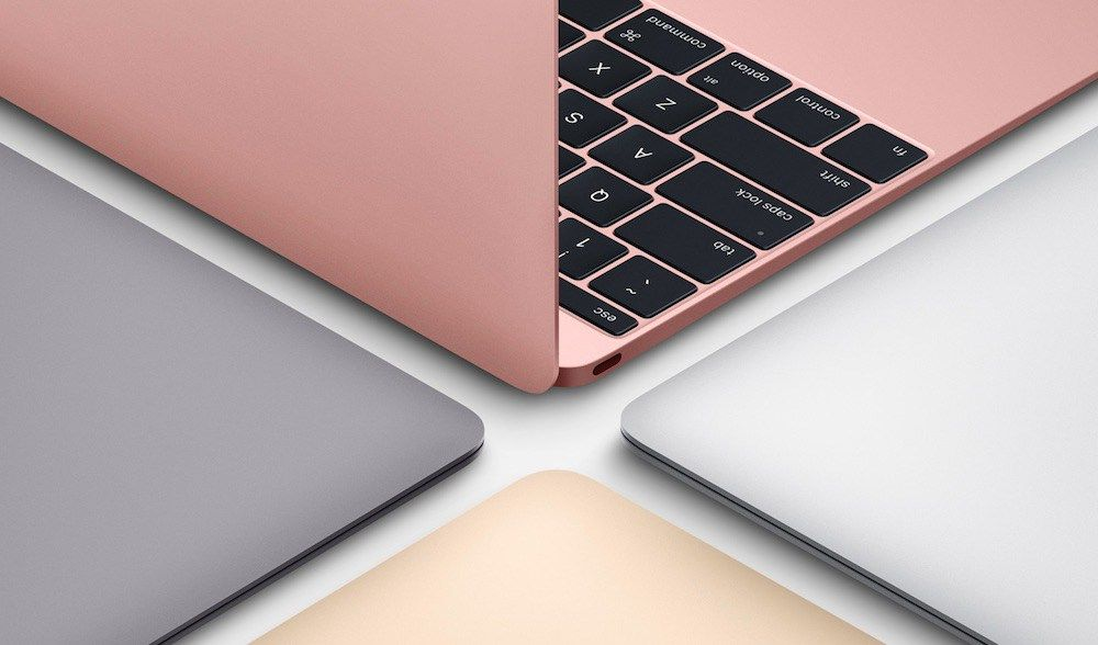 Macbook Pink Color