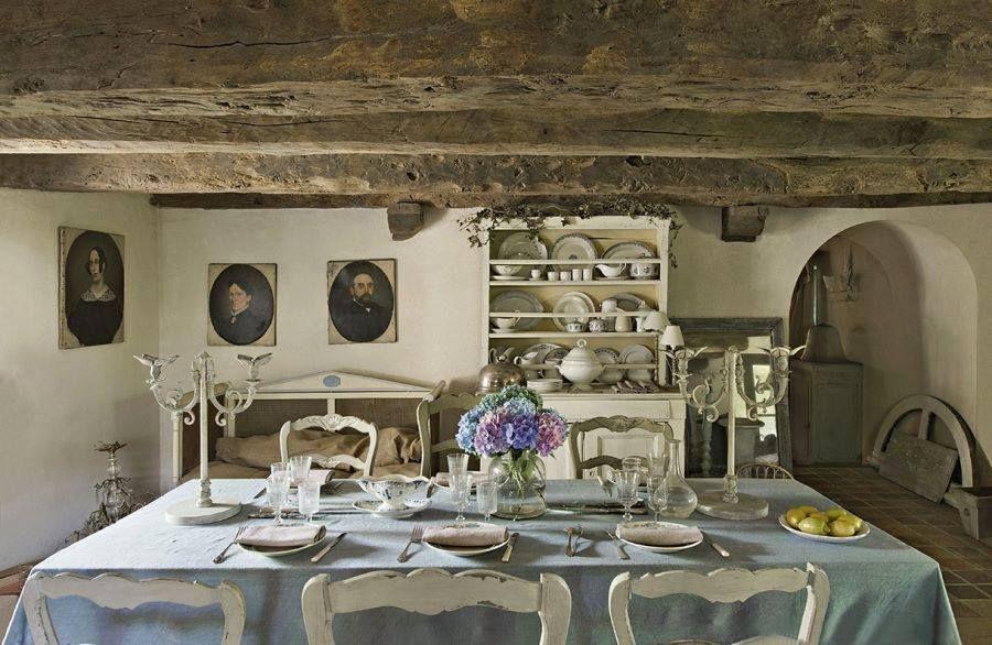 Arredamento Country ~ Arredamento country chic e stile gustaviano per la casa di vacanza