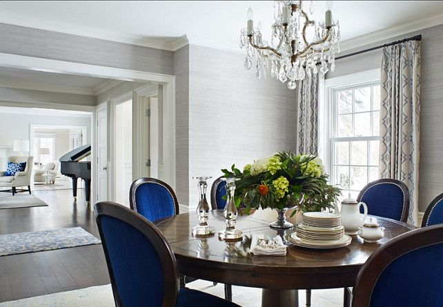 Blue Dining Room Chairs Design Home design ideas picture gallery