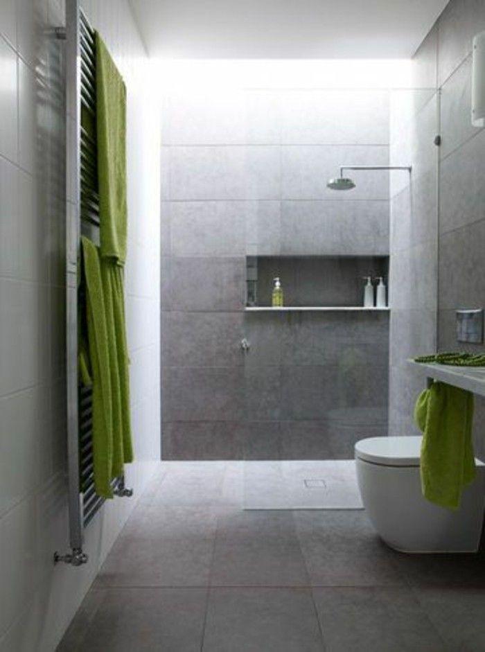 La salle de bain avec douche italienne 53 photos! | Idée salle de ...