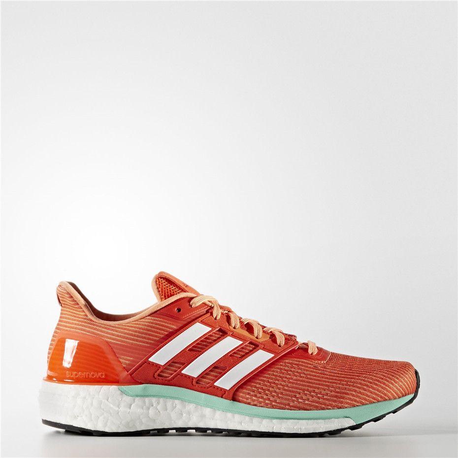 low priced de3fa c4a7a Adidas Supernova Shoes (Energy  Running White  Easy Orange)