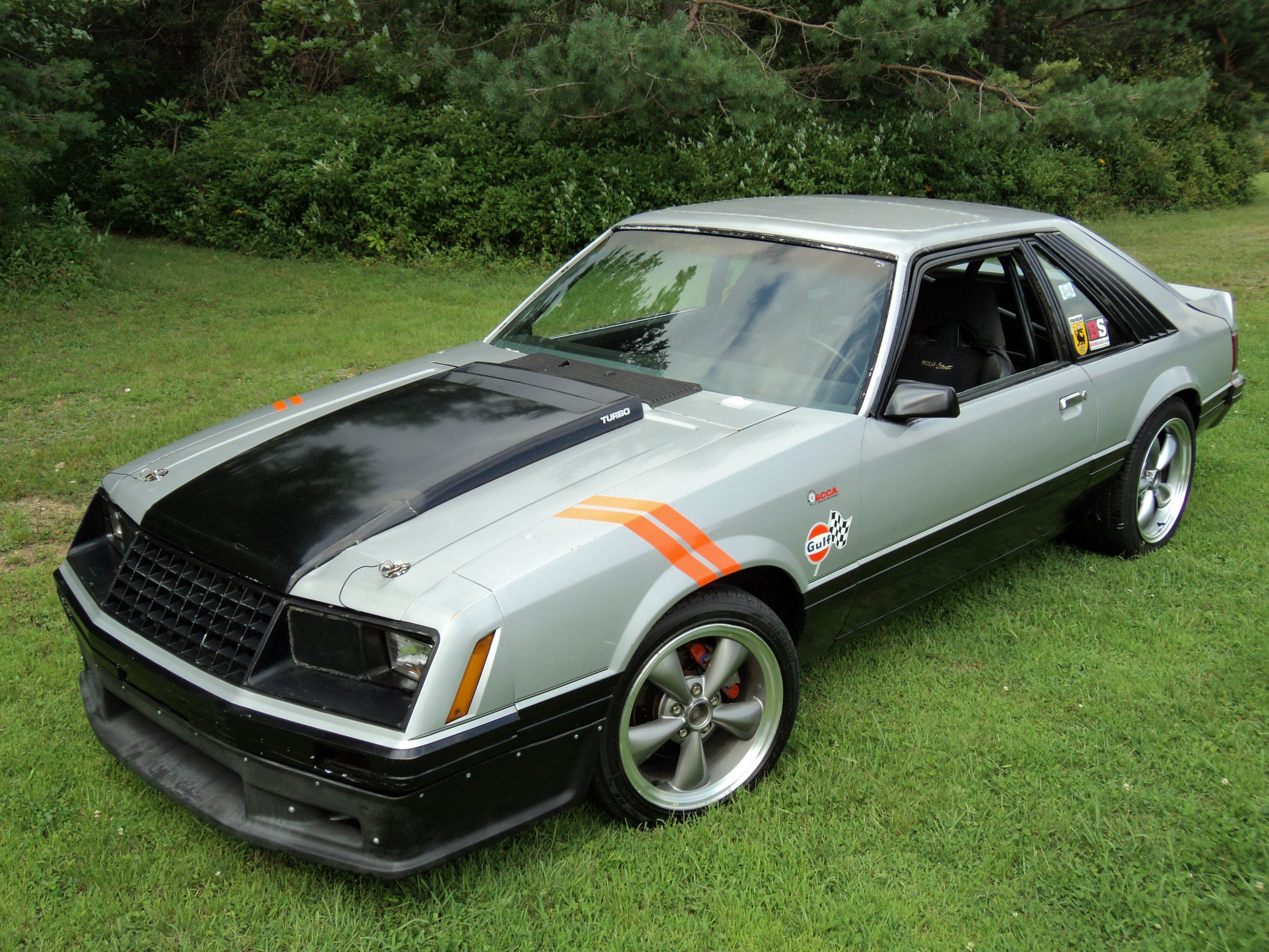 My 79 mustang indy pace car scca c prepared autocrosser 2 3l turbo 5pd