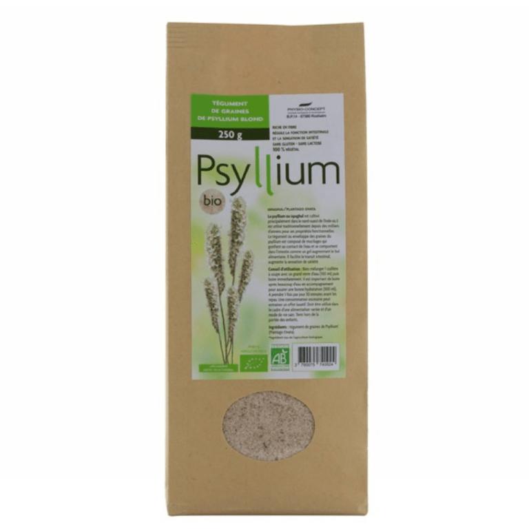 Psyllium blond tégument Bio - 250 g | Psyllium, Psyllium