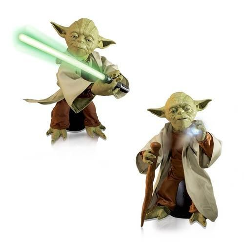 Star Wars Legendary Jedi Master Yoda Statue Action Figure Toy Model Display